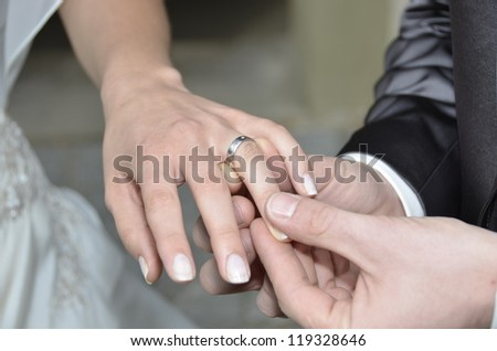 Wedding Ring - Wedding Vows