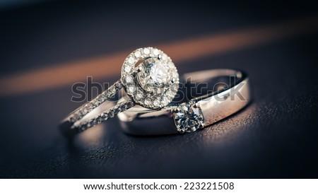 Luxury Wedding Rings Stock Images RoyaltyFree Images Vectors