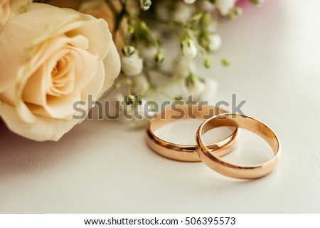 Wedding Rings Stock Images Royalty Free Images Vectors