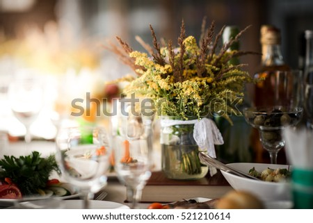 Wedding table/Married