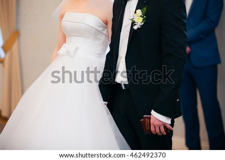 wedding theme, holding hands newlyweds. new marriage
