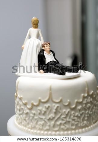 wedding topper - stock photo