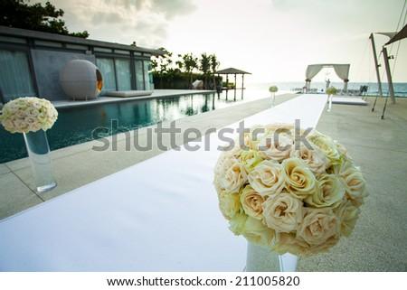 wedding venue - stock photo