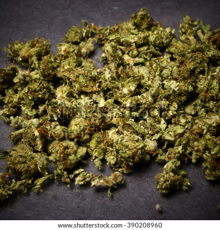 Weed Marijuana Cannabis Pot  - stock photo