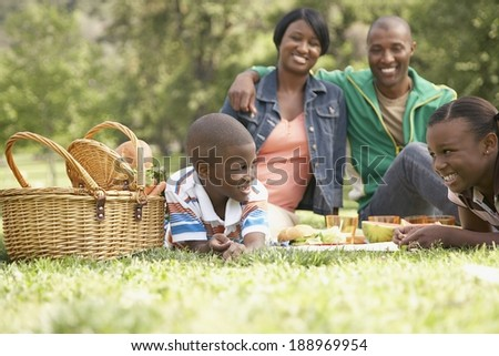 Weekend at the park - stock photo