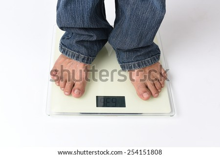weigh - stock photo