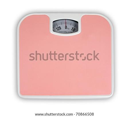 Weighing machine - stock photo