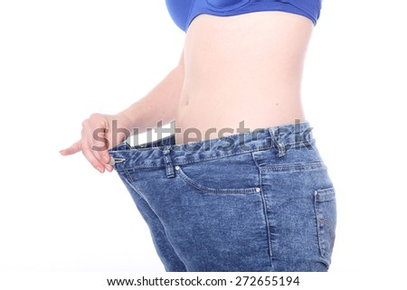 Weight loss - stock photo