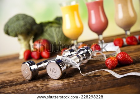 Weight loss, fitness - stock photo