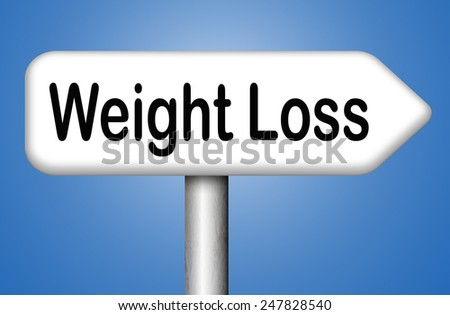 weight loss losing pounds and go on a diet being overweight - stock photo