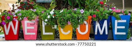 Welcome guest - stock photo