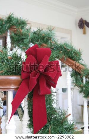 Welcome home for Christmas - stock photo