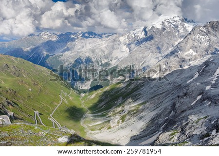 Welcome to Italy - stock photo