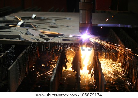 welding - stock photo