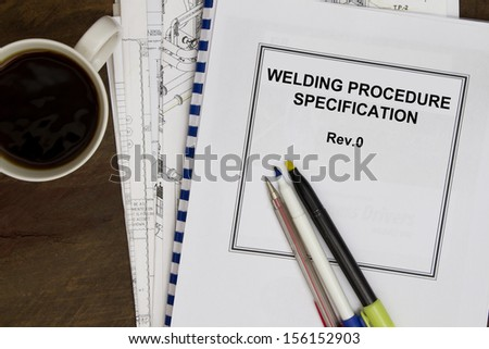 welding procedure specification manuals concept in the oil and gas industry.