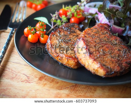 What goes well with pork chops?