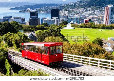 Wellington Cable Car New Zealand Stock Photo 642981703 Shutterstock