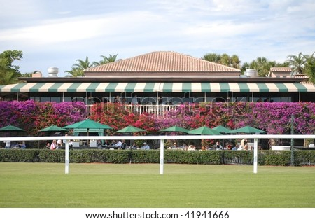 WELLINGTON, FL - NOVEMBER 28: the Tavern on the Green at the Players Club give a great view of the Suncast Palm Beach Steeplechase November 28, 2009 in Wellington, FL