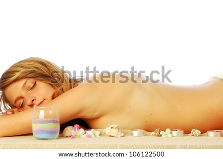 Wellness Center - In a health club for a healthy body care 447 - stock photo