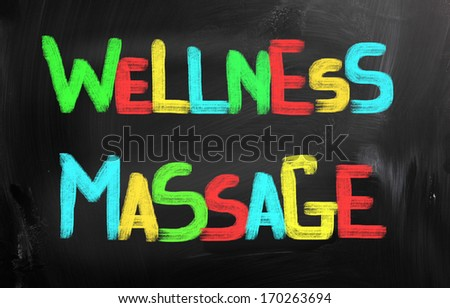 Wellness Massage Concept