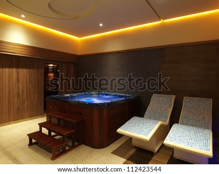 Wellness room - stock photo