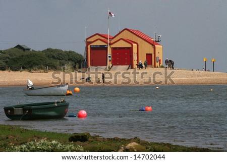 wells-next-the-sea - stock photo