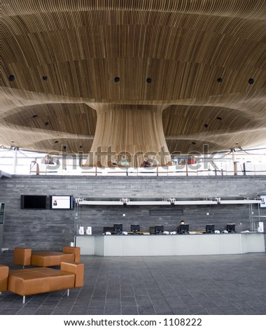 Welsh Assembly Building, Cardiff Bay, Wales