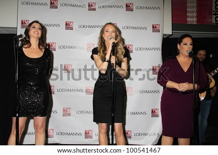 "Wendy Wilson, Chynna Phillips, Carnie Wilson at the ""Wilson Phillips: Still Holding"" Launch Party And CD Signing, Loehmann's,  Beverly Hills, CA 04-15-12"