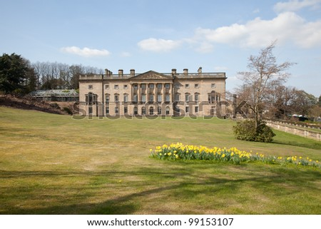 Wentworth Castle House in Barnsley, South Yorkshire, UK