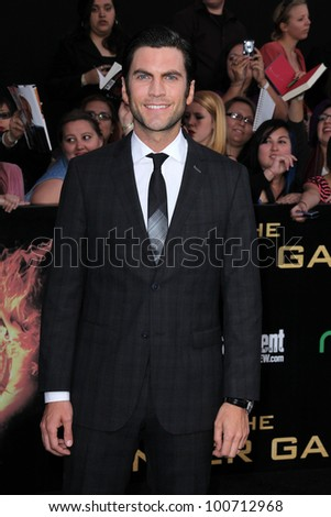 "Wes Bentley at ""The Hunger Games"" Los Angeles Premiere, Nokia Theater, Los Angeles, CA 03-12-12"