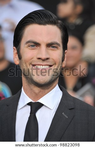 "Wes Bentley at the world premiere of his new movie ""The Hunger Games"" at the Nokia Theatre L.A. Live. March 12, 2012  Los Angeles, CA Picture: Paul Smith / Featureflash"