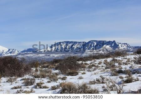 West Elk Mountains - stock photo