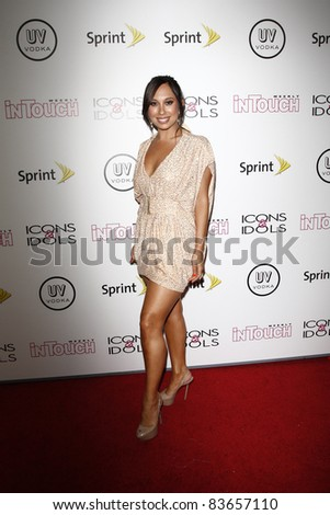 WEST HOLLYWOOD - AUG 28: Cheryl Burke at the 4th annual Icons & Idols party at the Sunset Tower Hotel in West Hollywood, California on August 28, 2011
