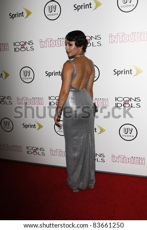 WEST HOLLYWOOD - AUG 28: Vanessa Hudgens at the 4th annual Icons & Idols party at the Sunset Tower Hotel in West Hollywood, California on August 28, 2011