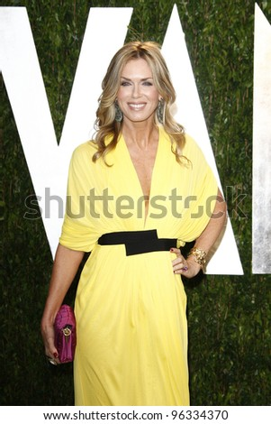 WEST HOLLYWOOD, CA - FEB 26: Kathy Freston at the Vanity Fair Oscar Party at Sunset Tower on February 26, 2012 in West Hollywood, California. - stock photo