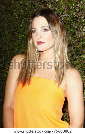 WEST HOLLYWOOD, CA - JAN 5:  Drew Barrymore (Dress: Jil Sander) at the COVERGIRL 50th Anniversary Celebration at BOA Steakhouse held on January 5, 2011 in West Hollywood, California.