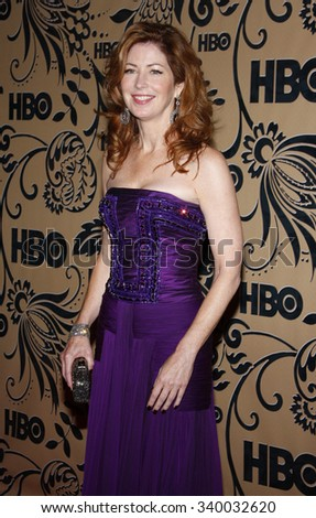 WEST HOLLYWOOD, CALIFORNIA - September 20, 2009. Dana Delany at the HBO POST EMMY Party held at the Pacific Design Center, West Hollywood, Los Angeles.   - stock photo