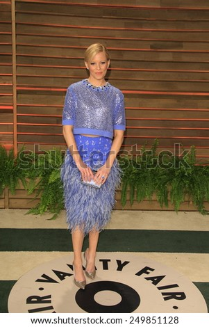 WEST HOLLYWOOD - MAR 2:: Elizabeth Banks at the 2014 Vanity Fair Oscar Party on March 2, 2014 in West Hollywood, California - stock photo