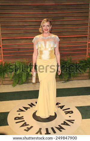 WEST HOLLYWOOD - MAR 2:: Marley Shelton at the 2014 Vanity Fair Oscar Party on March 2, 2014 in West Hollywood, California - stock photo