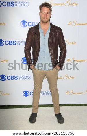WEST HOLLYWOOD - MAY 18: Jake McDorman at the CBS Television Studios 3rd Annual Summer Soiree Party held at The London Hotel on May 18, 2015 in West Hollywood, California - stock photo