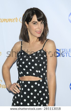 WEST HOLLYWOOD - MAY 18: Lindsay Sloane at the CBS Television Studios 3rd Annual Summer Soiree Party held at The London Hotel on May 18, 2015 in West Hollywood, California