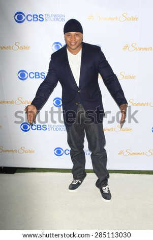 WEST HOLLYWOOD - MAY 18: LL Cool J at the CBS Television Studios 3rd Annual Summer Soiree Party held at The London Hotel on May 18, 2015 in West Hollywood, California - stock photo
