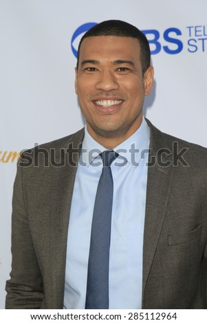 WEST HOLLYWOOD - MAY 18: Michael Yo at the CBS Television Studios 3rd Annual Summer Soiree Party held at The London Hotel on May 18, 2015 in West Hollywood, California - stock photo