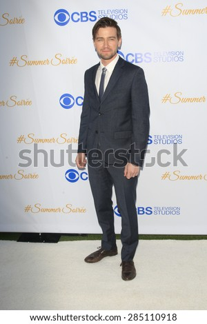 WEST HOLLYWOOD - MAY 18: Torrance Coombs at the CBS Television Studios 3rd Annual Summer Soiree Party held at The London Hotel on May 18, 2015 in West Hollywood, California - stock photo