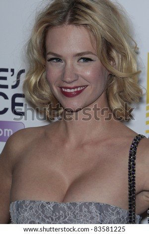 WEST HOLLYWOOD - OCT 12: January Jones at the Hollywood Life Hollywood Style Awards at the Pacific Design Center, West Hollywood, California on October 12, 2008