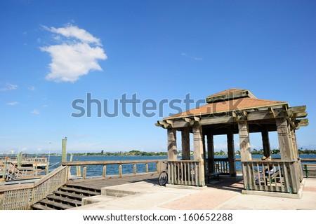 West Palm Beach bay area, Florida, USA - stock photo