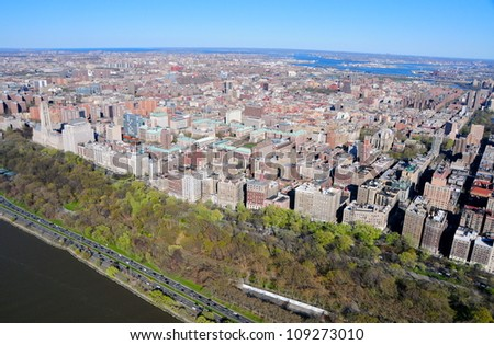 West Side Manhattan, New York - stock photo