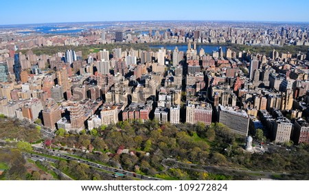 West side, New York - stock photo