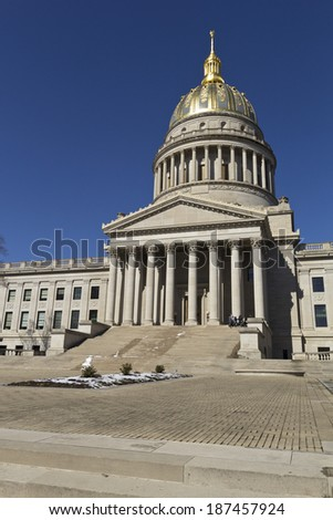 West Virginia State Capitol Building - stock photo
