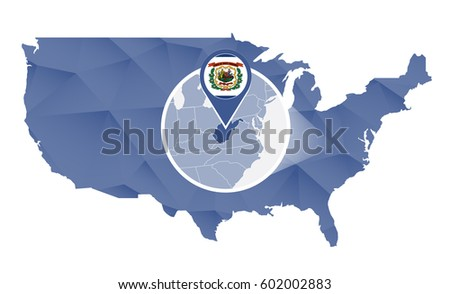 West Virginia Drawing Stock Images RoyaltyFree Images Vectors - West virginia us map